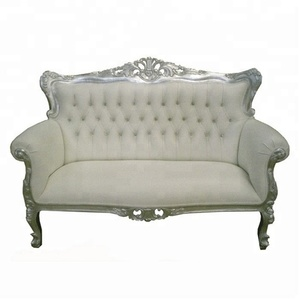 French country Style Sofa Tufted Luxury Furniture