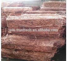 99.9 purity copper wire scrap/Copper millberry 99.9%/In stock