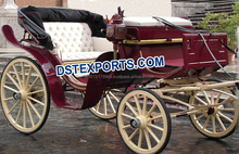 Beautiful Victoria Hearse Buggy/Vintage Victoria Horse Drawn Carriage/Different Style Wedding Buggys Manufacturer