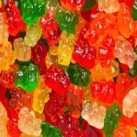 Sour Brite Crawlers Gummi Worms - 5lb,Sour Gummi Poppers - 5lb,Sour Gummi Bears Assorted,Sour Patch Gummy Peaches Candy - 5lb