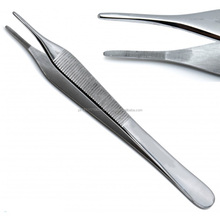 High Quality Tissue Forceps Adson 15cm Serrated Tip Dressing Tweezers Surgical Medical Plier