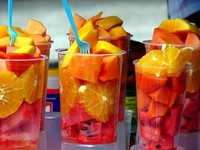 Wholesale bulk delicious canned mixed fruit in syrup