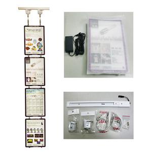 Ultra-slim environmental friendly design Advertising LED light Box(A4)