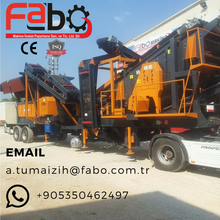 Mobile Crusher High Capacity High Technology Crushing&Screening Plant, Portable Crusher Plant For Sale