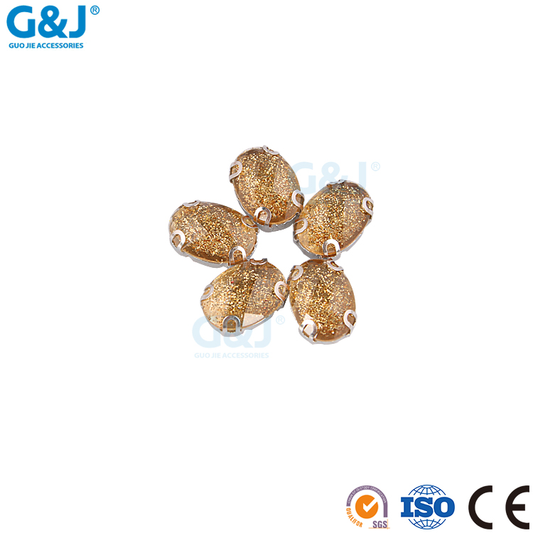 guojie brand newest factory wholesale produce high quality custom color stainless steel material resin stone