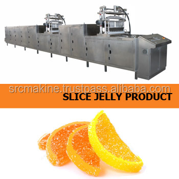 Apple Slice Toffe Candy , Jelly Candy Machine