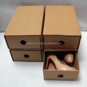 Custom paper shoes box style 1
