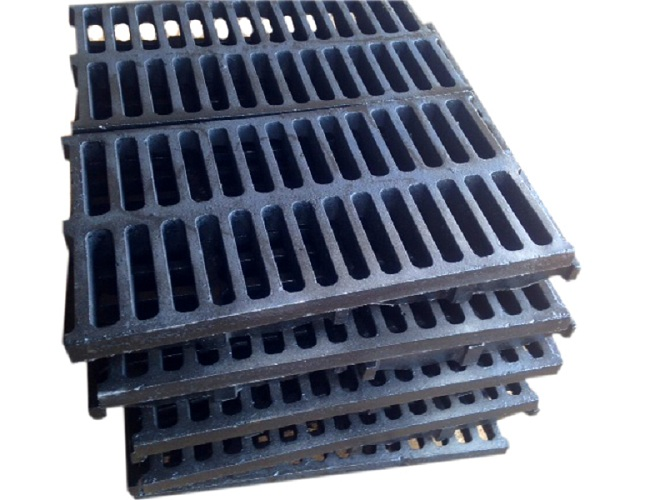 Gray iron, ductile iron gully grating