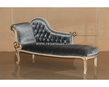 Antique Reproduction Furniture - Single End Sofa Jepara Furniture