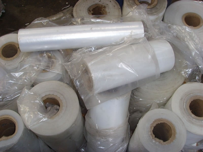 Wrap stretch film plastic scrap