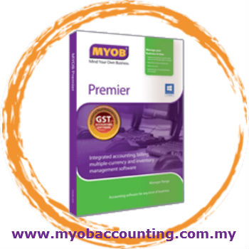 MYOB Premier Small Business Accounting Software