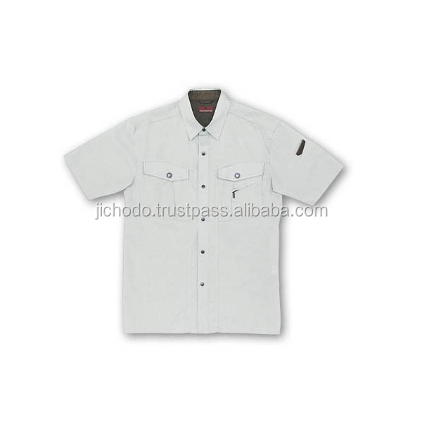 Cooling cloth / Work shirts with short sleeves ( spring and summer ). Made by Japan