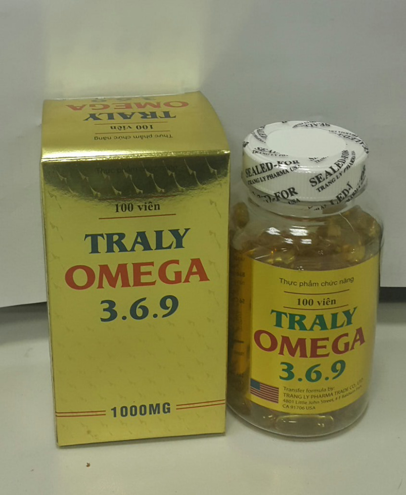 TRALY OMEGA 3.6.9 - Functional food from VN
