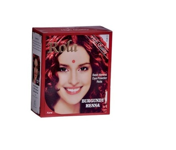 herbal henna gray coverage hair colour powder natural brown