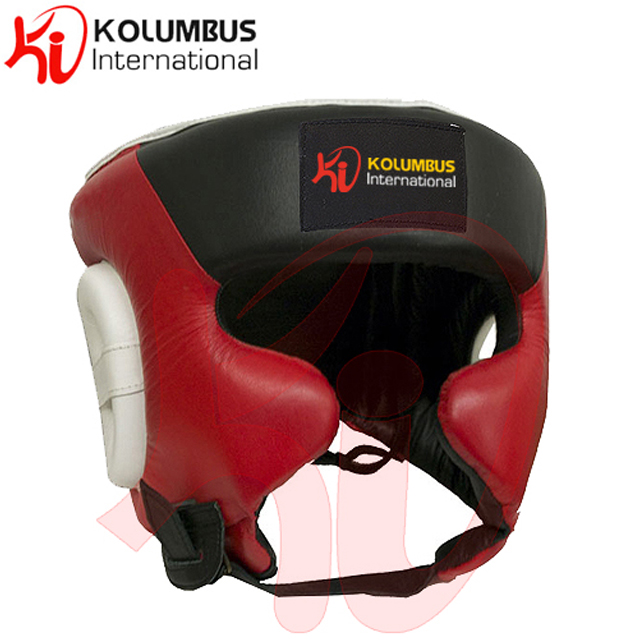 Boxing Head Guard in Leather, Professional Boxing Head Gear From Pakistan, Head Guard In Leather