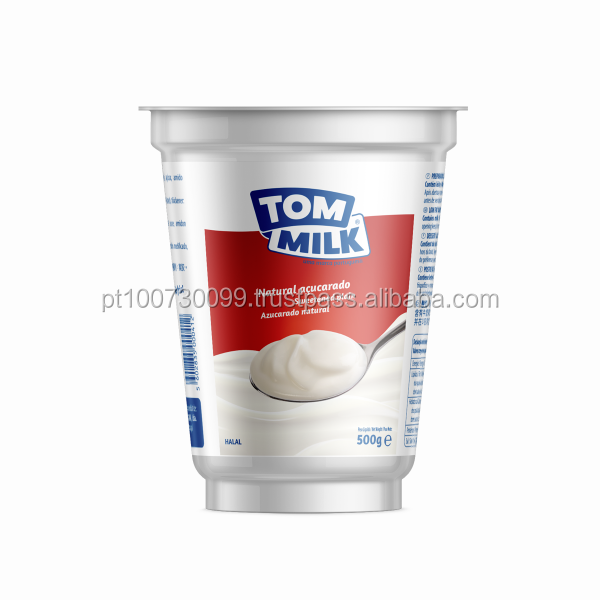 Sweetened Natural Yogurt (1,2% fat) - TOM MILK brand (new image)
