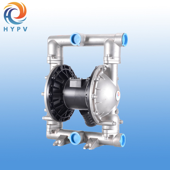 Self Suction Air-operated Diaphragm Pump Stainless Steel Body