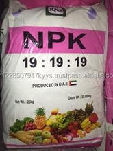 Granular NPK 15-15-15 /19-19-19/16-16-16 NPK fertilizer