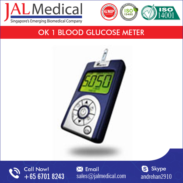 2017 New Arrival Blood Glucose Meter/ Monitoring System for Quick and Accurate Result