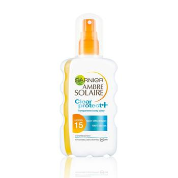 Garnier Ambre Solaire Clear Protect Spray SPF 15 200ml