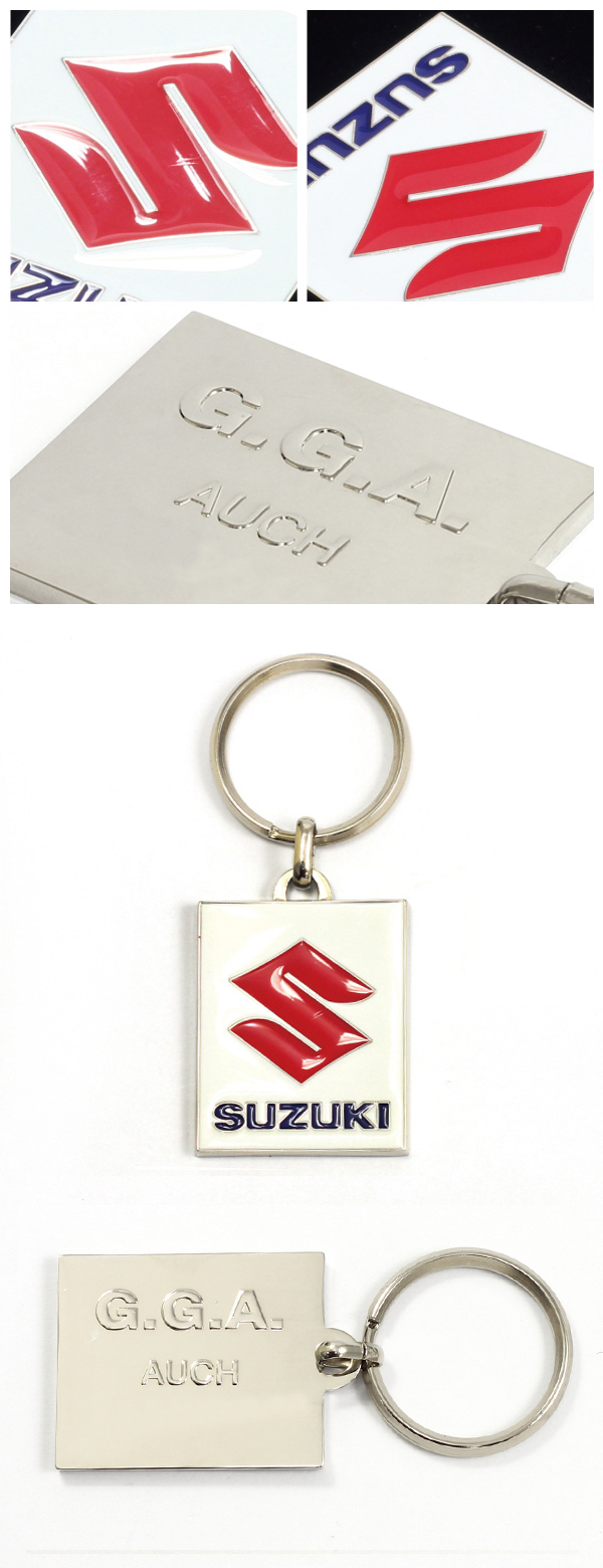 Factory Direct Sale Car Brand Keychain with Logo