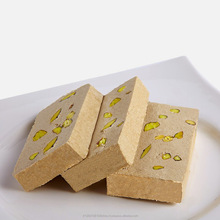 Turkish Halva, Sweeties, Tahini Halva Plain, Pistachio, Peanuts, Walnut, Wholesale, Bulk Package, 500gr