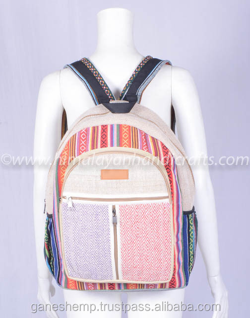 canvas laptop backpack HBB 0058-a