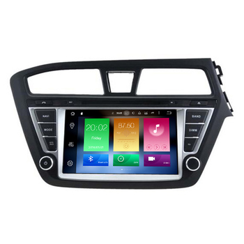 Hifimax Android 8.0 Car Media GPS Player For Hyundai I20 2015 Multimedia Radio Navigation System With 4G RAM 32G Flash