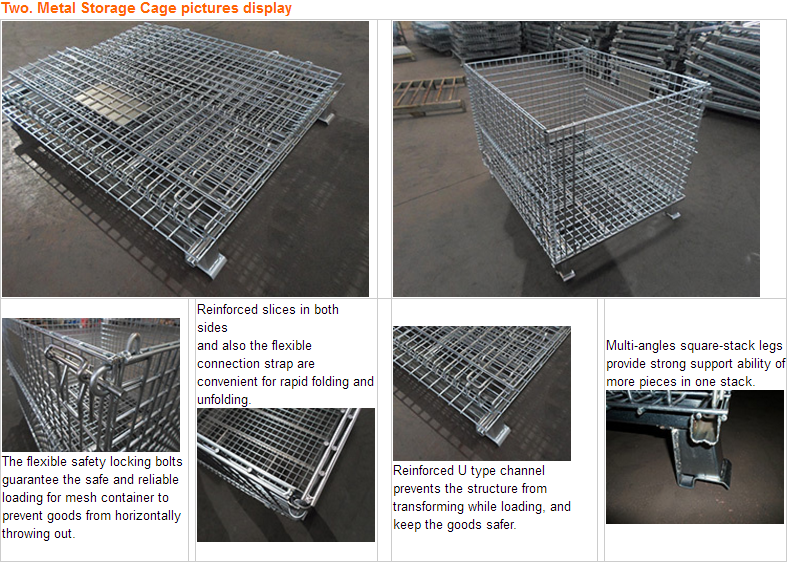 Collasible steel containers for sale