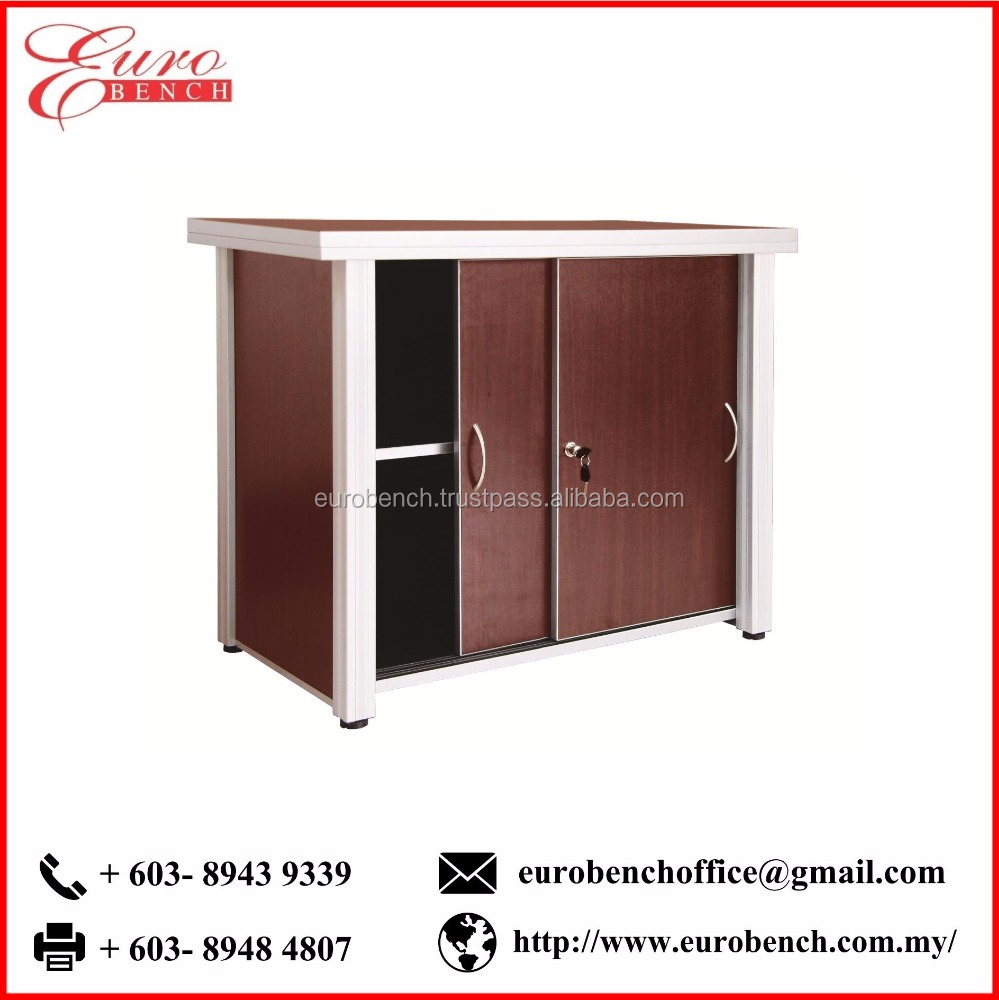 Euro Bench HORMA Sliding Cabinet (with 36mm TOP THK) Hot Sale Wooden Cabinet Office Furniture