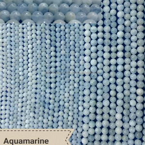 Aquamarine beads strands,AAA grade round beads,gemstone beads