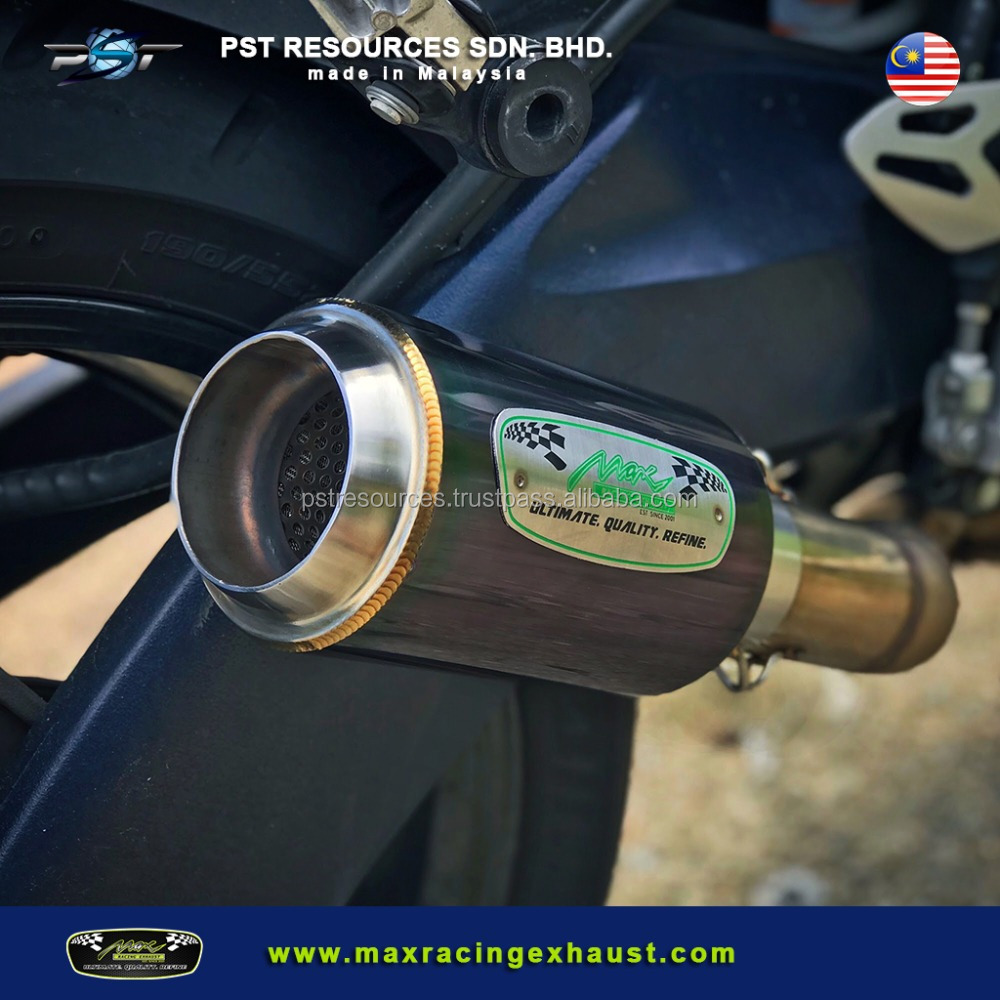 Superbike Muffler Malaysia High Performance Motorcycle Exhaust System