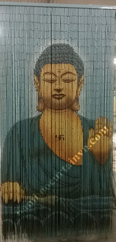 Perfect for doorway 100% hand made beaded curtain door screens buddha