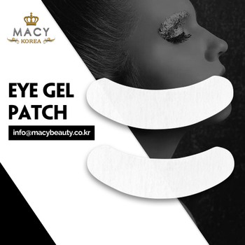 Macy double tape eye gel patch lint free high quality 2 pairs