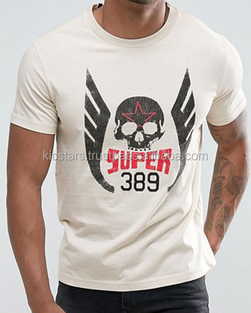 Skull printed t-shirt for men
