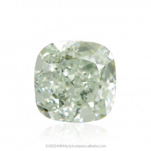 0.73 Ct. Cushion Shape Loose Natural Diamond Green IF GIA