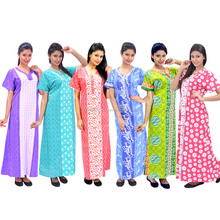 fancy cotton nighty india