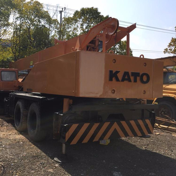 Used Kato 25 ton NK250E-V truck mounted crane ,right hand drive can be adjustable by our professional engineer !