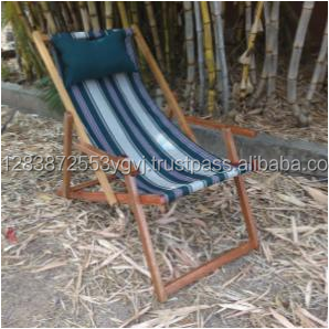 antique and stylish Deck chair