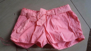 Ladies Hot Short Genuine Surplus