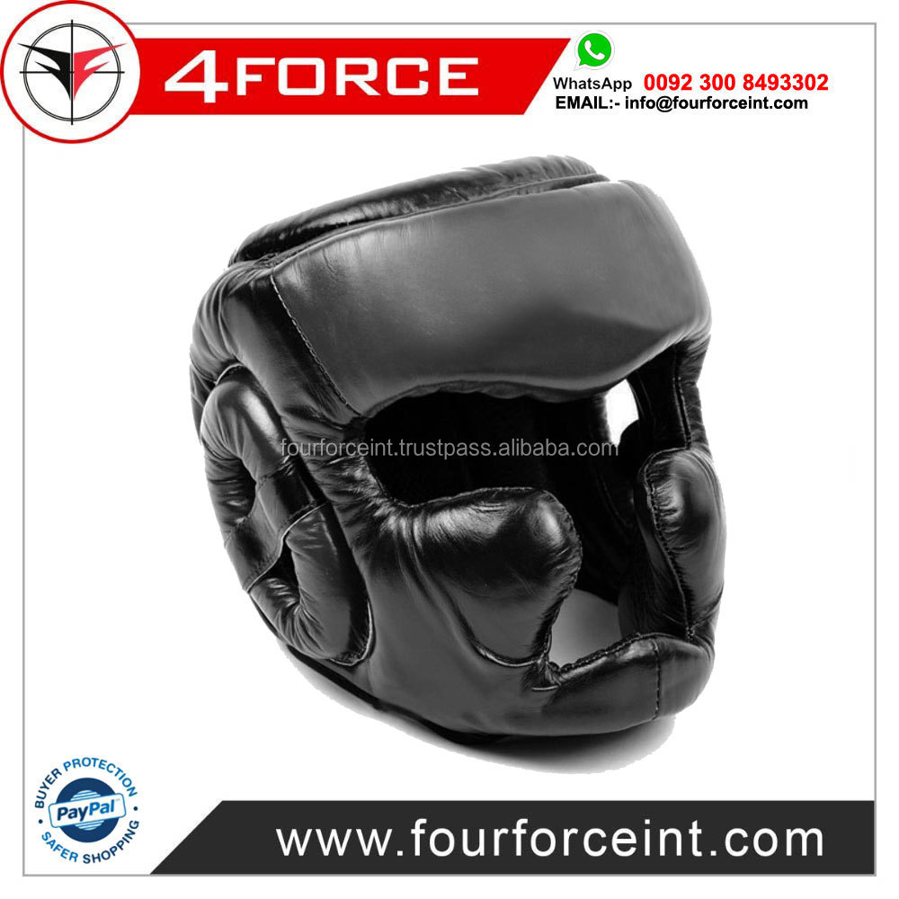 Comfortable Protective Kick Boxing Head Guard