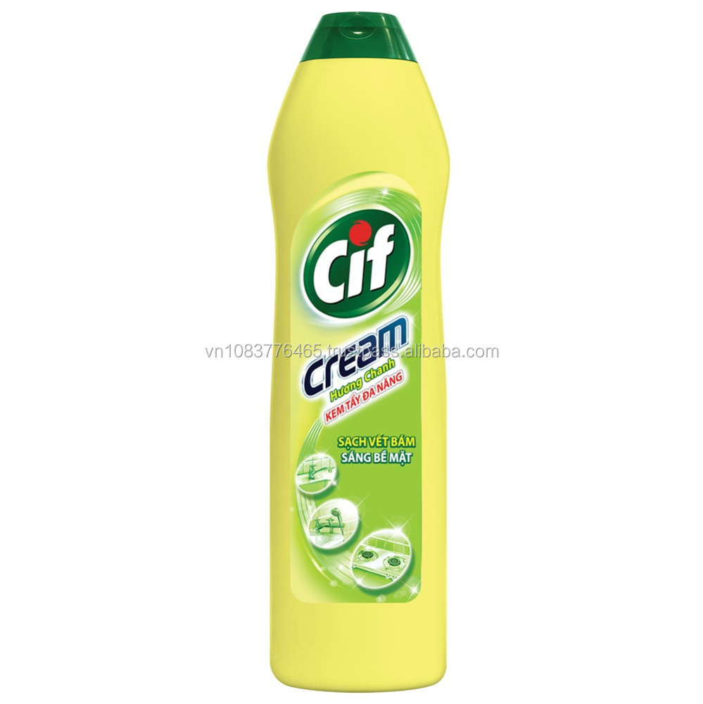 Cif Multipurpose Surface Cleaning Cream 500 ml 12bottles/carton