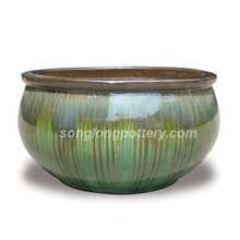 Indoor Flower Pots Ceramic Glazed Pottery Planter wholesale top new