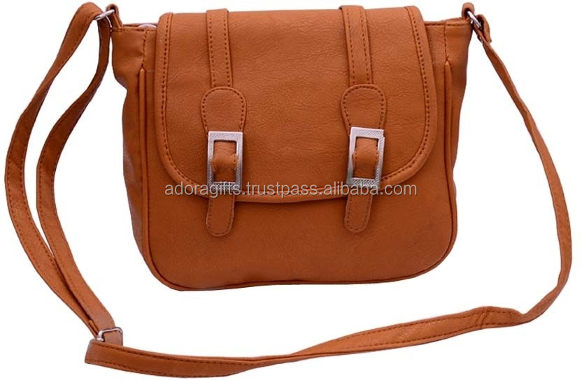 Crossbody Purse For Women Leather PU Sling Cross Shoulder Bag Fashionable