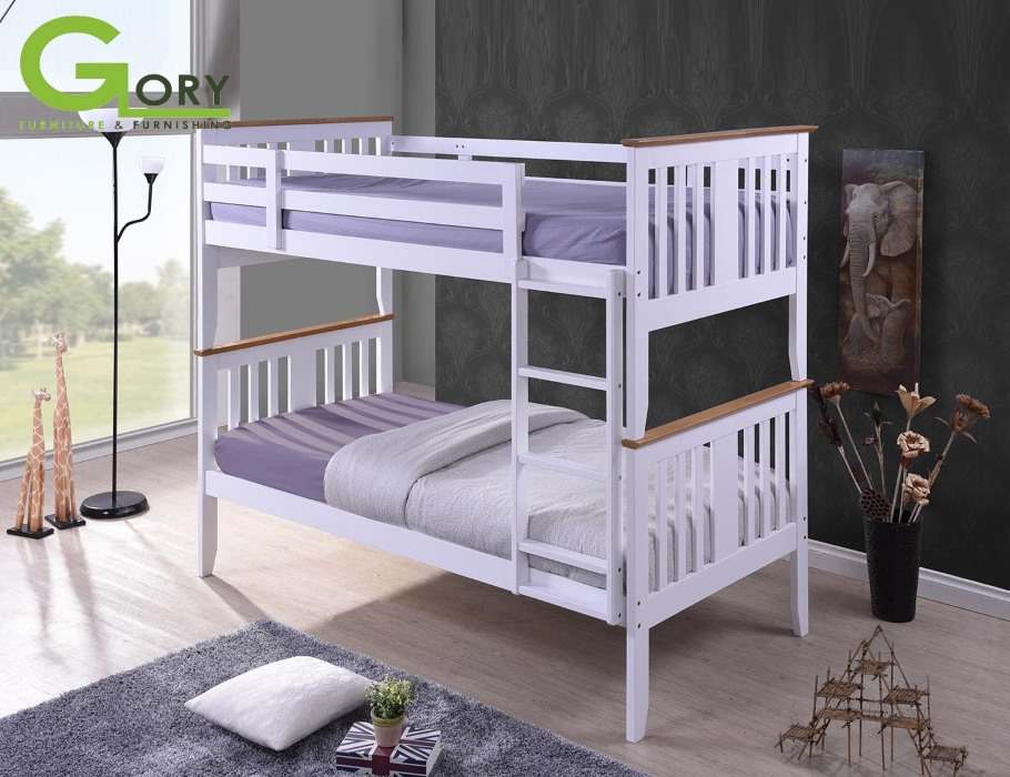 Bunk Bed, Wooden Bunk Bed, Blossom Bunk Bed