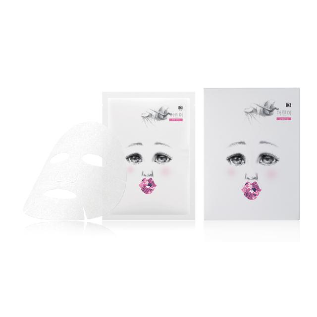 Korean cosmetics beauty natural moisturizing skin care OKA with pure honey facial mask sheet for kids