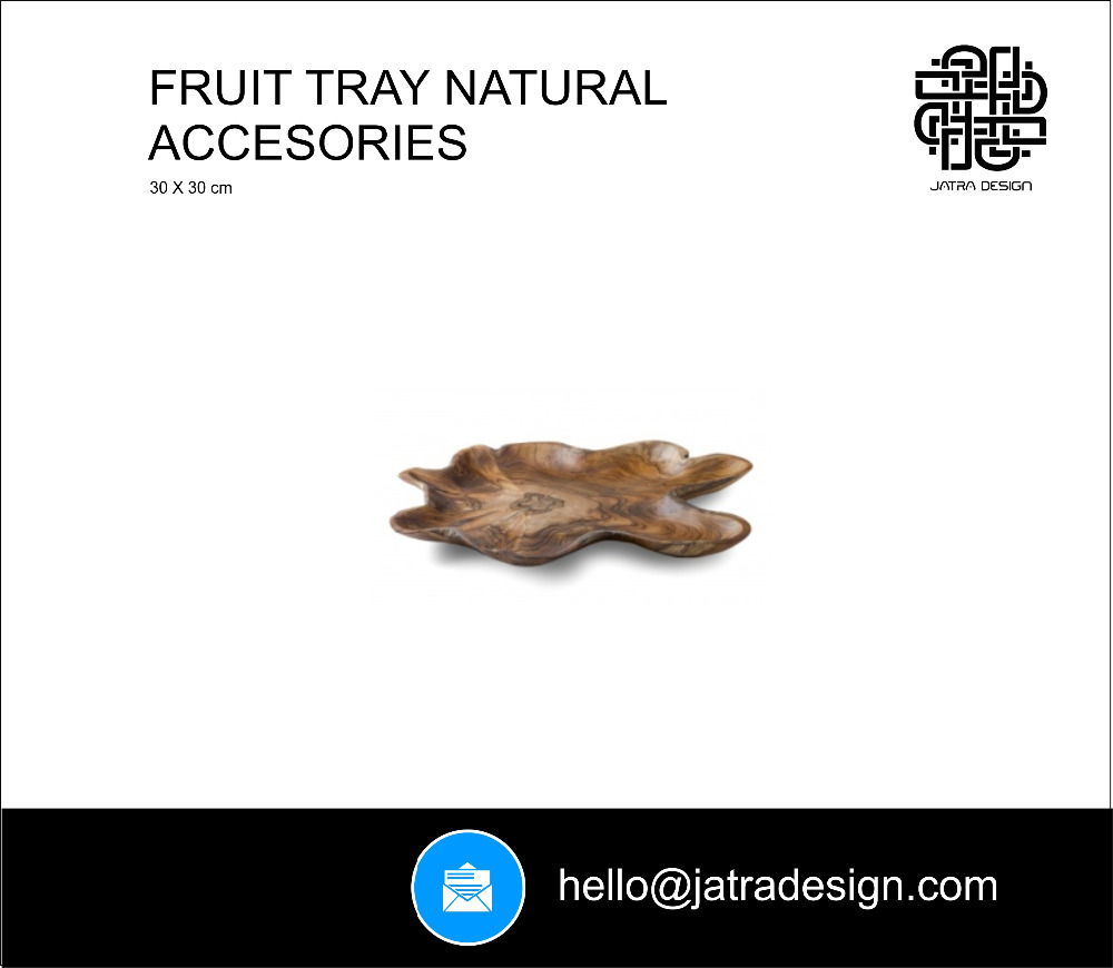 Fruit Tray Natural Accesories
