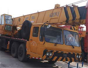 Secondhand Grove TS400 Mobile Truck Crane/grove 40ton truck crane/used 150ton grove truck crane for sale