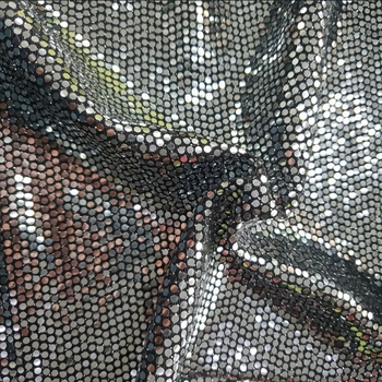 NYLON METALLIC 2MM FULL TRANS SPANGLE FABRIC