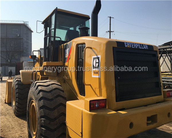 used caterpillar backhoe 950H loader caterpillar 950h LOADING MACHINE